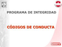 PROGRAMA DE INTEGRIDAD - Gobierno del Estado de …