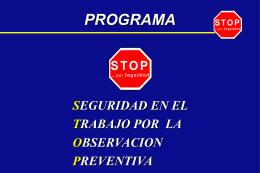 Programa STOP