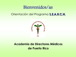 PROGRAMA SEARCH - Medical Electives Office | UCC …