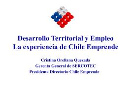 El programa Chile Emprende