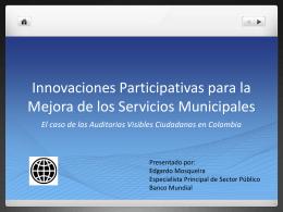 Programa de Auditorias Visibles Ciudadanas
