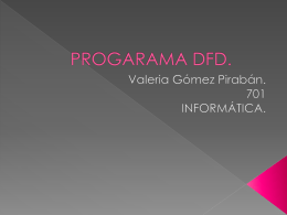 PROGRAMA DFD. - www.colegioscolombia.com