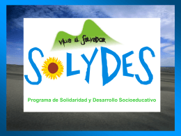 """Programa: """"Agentes culturales promotores del cambio"""