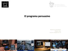 8 Programa persuasivo