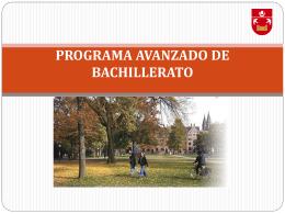 PROGRAMA AVANZADO DE BACHILLERTO