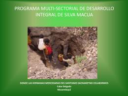 PROGRAMA MULTI-SECTORIAL DE DESARROLLO …