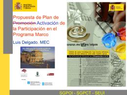 El VI Programa Marco