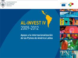 Programa AL INVEST III