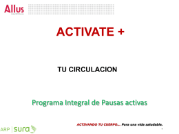 Programa Integral de Pausas activas