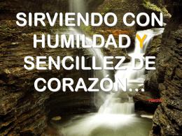 Sirviendo con humildad.... - INICIO - Hacked by F8