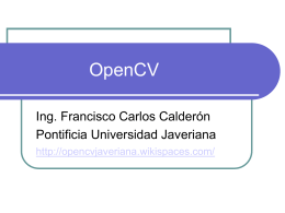 OpenCV - opencvjaveriana