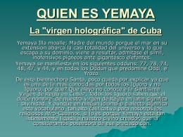 QUIEN ES YEMAYA - CUBA Democracia y Vida: :: M E N U