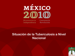 Diapositiva 1 - Southeastern National Tuberculosis Center