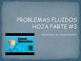 PROBLEMAS FLUIDOS HOJA PARTE #2