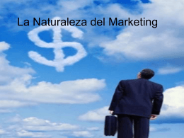 La Naturaleza del Marketing - Marketingdelmero's Weblog