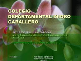 COLEGIO DEPARTAMENTAL ISIDRO CABALLERO
