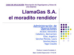 LlamaGas S.A. el moradito rendidor