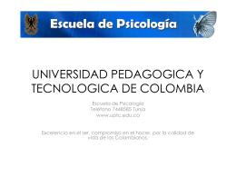 UNIVERSIDAD PEDAGOGICA Y TECNOLOGICA DE …