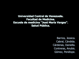 Universidad Central de Venezuela. Facultad de Medicina.