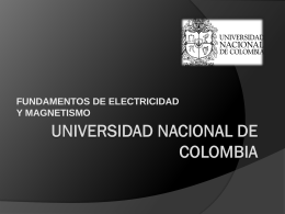 UNIVERSIDAD NACIONAL DE COLOMBIA - fem2012