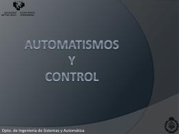 AUTOMATISMOS Y CONTROL
