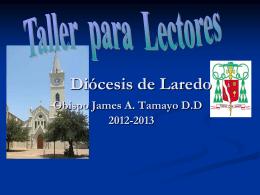 Diocese of Laredo 2012