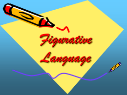 Figurative Language - Ms. Campbell's 6th Grade English …
