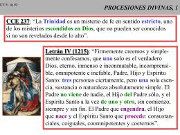 PROCESIONES DIVINAS, 1