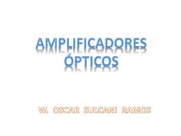 Diapositiva 1 - Comunicaciones Opticas