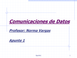Comunicaciones de Datos - RAMOS ON