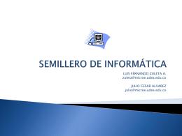 SEMILLERO DE INFORMATICA - SISTEMIC | Grupo de