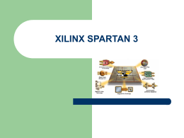 XILINX SPARTAN 3 - Instituto Universitario de