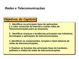 Chapter 4: Introduction to Telecommunications