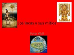 Los Incas y sus mitios - IB-SL-HL-Y13-2012