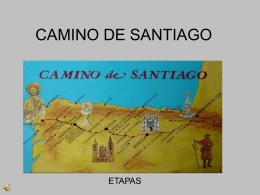 CAMINO DE SANTIAGO - IES Jaime Gil de Biedma