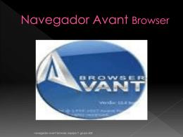 Navegador Avant Browser - Capacitacion Blog | CEMSAD