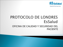 PROTOCOLO DE LONDRES EsSalud