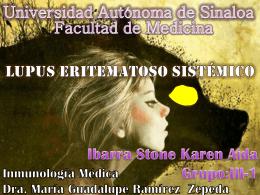 Diapositiva 1 - Facultad de Medicina | Universidad