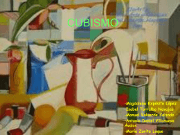CUBISMO - virgendelcampo