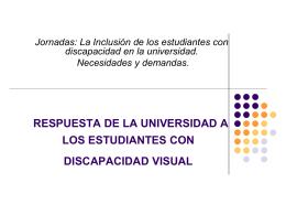 RESPUESTA DE LA UNIVERSIDAD A LOS ESTUDIANTES …