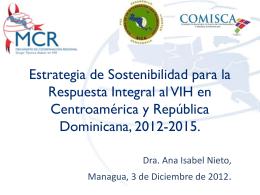 Estrategia de Sostenibilidad para la Respuesta Integral al