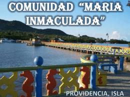 """COMUNIDAD """"MARIA INMACULADA"""""""