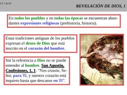 REVELACION DE DIOS, 1