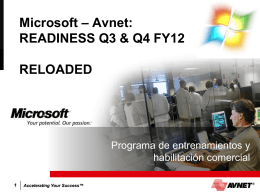 Avnet Corporate FY11 PPT Template