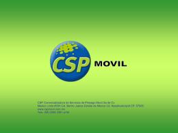 Diapositiva 1 - CSP En Linea