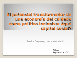 What networks for social inclusion in Spain? A critical