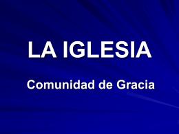 LA IGLESIA - Presbiterio Peninsualr A.R.