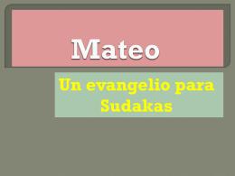 Mateo: Una iglesia judeo
