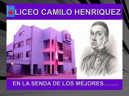 PREGUNTAS FRECUENTES - LICEO CAMILO HENRIQUEZ