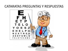 CATARATAS PREGUNTAS Y RESPUESTAS
